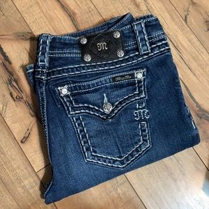 Miss Me relaxed boot cut jeans 31/34